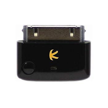 KOKKIA i10_Pro  Black    Bluetooth Transmitter Splitter with aptX/Low-Latency aptX/FastStream/SBC codecs Compatible with 30-pin iPod,iPhone,iPad Compatible with AirPods Compatible with Bose etc.
