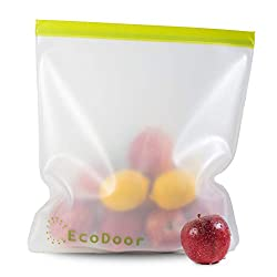 Food bag with produce.