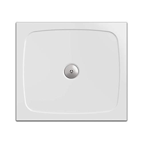 Duschwanne/Duschtasse Nordona® SIMPLEX, rechteckig 80 x 90 cm | Flache Aufbau-Höhe: 3 cm | Kompatibel mit Nordona® VersoFlat Ablauf