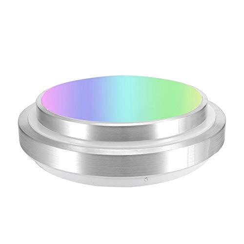 ZWD Plafoniera WiFi, 60W Smart RGBW LED Plafoniera App Supporto Telecomando per Google Home Alexa, App per Smartphone dimmerabile