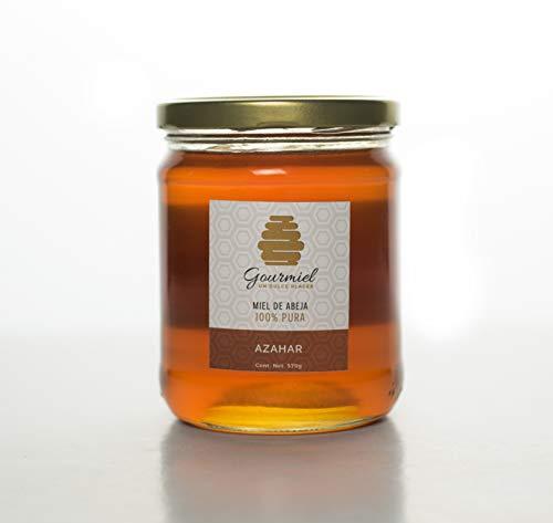 Miel de Abeja 100 % Pura Floración de Azahar 570 g.
