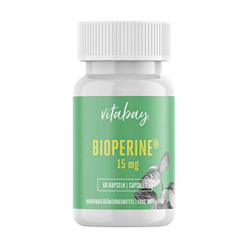 Bioperine - 15 mg - 60 cápsulas