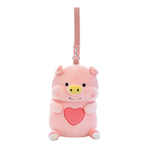 HMMJ Juguete de Peluche, Lindo Bolso de muñeca de Cerdo Lindo Regalo de Juguete Relleno para niñas
