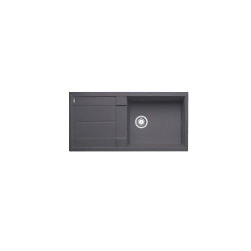 Blanco METRA XL 6 S 518 880 Küchenspüle S-518 felsgrau, Grau