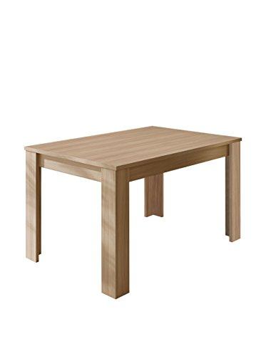 Générique Kendra Table a Manger Extensible 6 a 8 Personnes 140-190x90 cm - décor Chene Clair