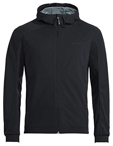 VAUDE Herren Jacke Mens Cyclist Softshell Jacket II, Black, XL, 42253