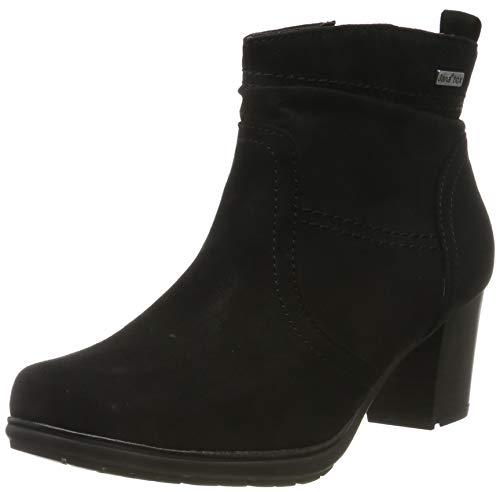 Jana 100% comfort Damen 8-8-26371-23 Stiefeletten, Schwarz (Black 001), 39 EU