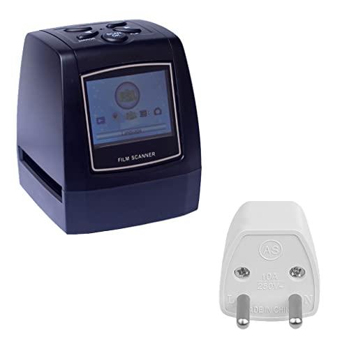 osdihfwo08r Scanner Portatile per pellicole Negative Convertitore per pellicole per Diapositive 35/135 mm Visualizzatore di Immagini digitali per Foto con Display LCD a Colori da 2,4'