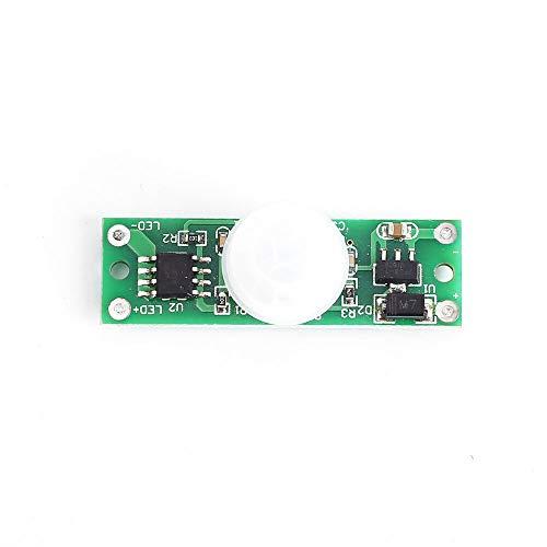 Condensadores PIR Cuerpo Humano Sensor Módulo DC 12V 24V 30s Interruptor de Retraso Control de Luz 20W 10pcs