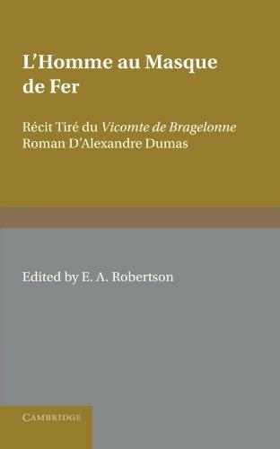 L'Homme au Masque de Fer: Récit Tiré du Vicomte de Bragelonne Roman D'Alexandre Dumas