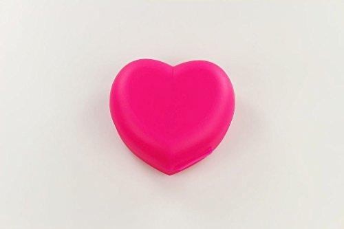 TUPPERWARE To Go Vesperbox Herz Dose neon pink Behälter Box 31236