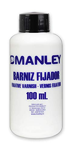 Manley MND00270 - Bote con barniz fijador