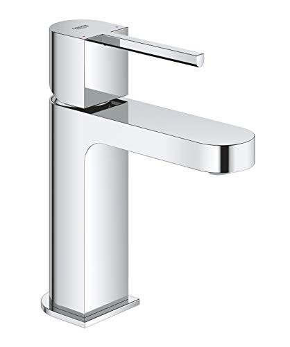 GROHE Plus | Badarmatur- Einhand-Waschtischbatterie | Glatter Körper | chrom | 33163003