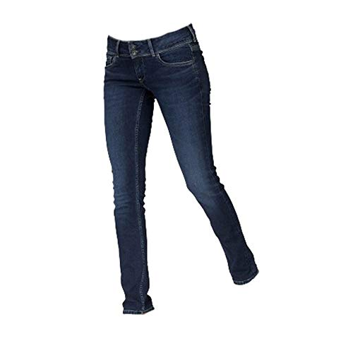 Pepe Jeans dames jeans Vera jeansbroek slim fit blauw paslengte L30