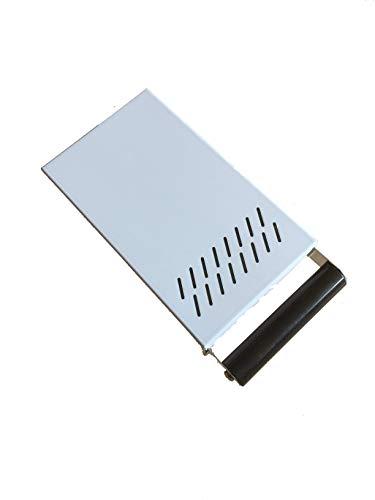 AlTaGru Sudschublade Profiline Mini grösse 14 x 24 x 5,5 cm Edelstahl poliert für Mühlen wie zb. ECM/Ascaso/Rancilio/Rocket Abschlagschublade Knockbox Sudschublade Mini