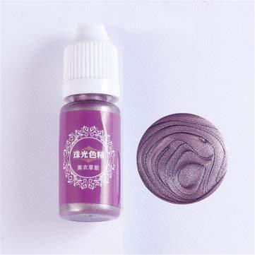 RanDal 10Ml Perla Brillante Pigmento 24 Colores Ultravioleta