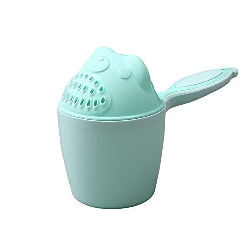 Haarwaschbecher, Baby Kinder Haarwaschhilf Badebecher Flusher Cup, Babybecher Gießkanne Rinser Becher, Shampoo Cup mit Griffigem Griff, Becher Eimer zum Haare Waschen, Haarwaschhilfe für Babys
