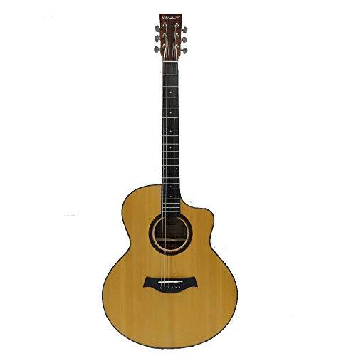Vault EA40 Premium 41 inch Spruce-Top Cutaway Acoustic Guitar