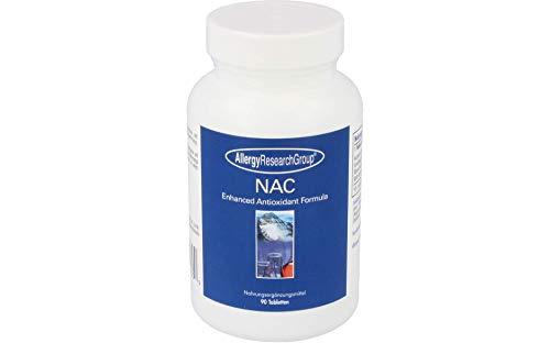 Allergy Research Group, NAC, Enhanced Antioxidant Formula, 90 Tablets