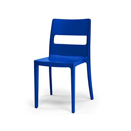 Scab Design - Set 6 sedie Sai Colore Blu