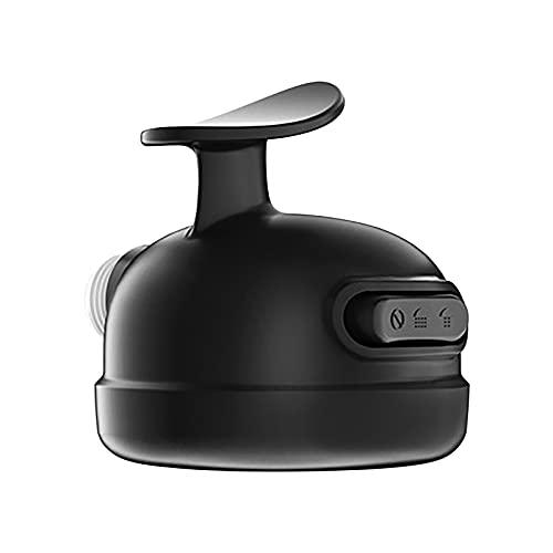 Duschkopf mit drei Modi, Hochdruck Duschkopf Verstellbares Badezimmer-Wasserhahn-Brausen-Set, Handbrause zum Haare waschen, zum Baden von Haustieren (Schwarz)