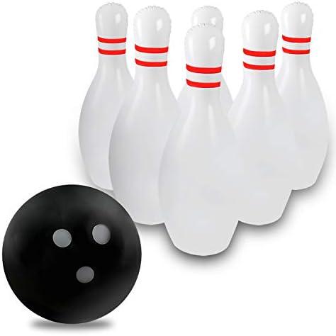 Human bowling pins