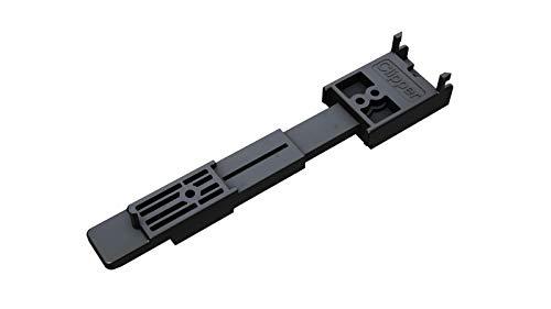 Clipper für Alu Unterkonstruktion - unsichtbare Terrassendielenbefestigung (Dielenbreite 120-150mm 20 bis 24mm Stärke 50 Stück)