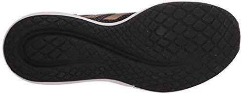 adidas Women's Fluidflow Running Shoe, core Black/Tactile Gold Met./Grey Six, 7.5 M US 4
