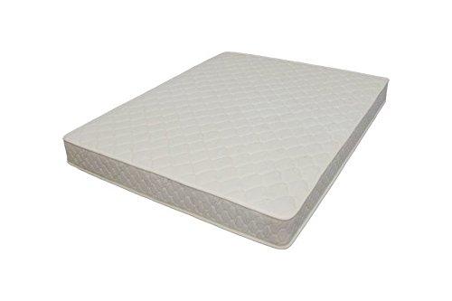 Comodo materasso in gommapiuma, arrotolato, di lusso, con molle da 18cm,singolo, Tessuto, 5FT King size mattress - 200x150x18cm