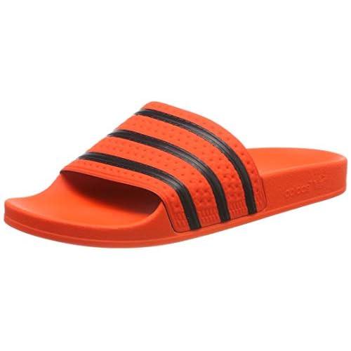 Adidas Adilette Ciabatte Uomo, Multicolore (Naract/Negbás/Naract 000), 39 EU