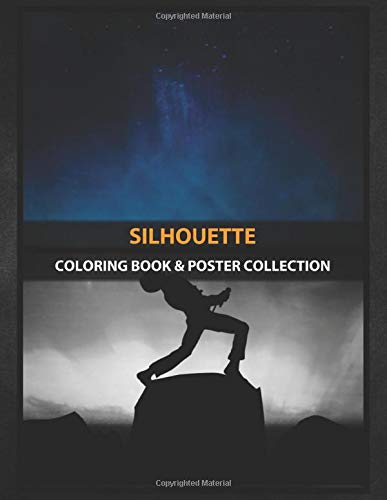 Coloring Book & Poster Collection: Silhouette Silhouette Of Freddie Mercury With Beautiful Space Back Fantasy