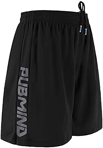 PUBMIND Lightweight Workout Running Athletic Shorts with Pockets for Men