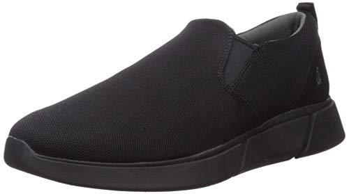 Hush Puppies Cooper Slip On, Zapatillas sin Cordones para Hombre, Negro (Black Heather Black), 46 EU