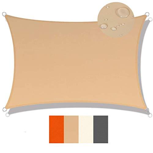 profesional ranking Vela de sombra 2,5 x 6,5 m, lona de tela, 95% de protección UV, techo de vela impermeable IKEA,… elección