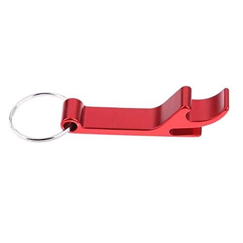 Tings Flesopener Sleutelhanger Kettingopener Aluminium voet Flesopener Sleutelhangers Bieraccessoires, moersleutel
