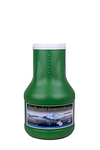 DOSIFICADOR INVERNADA DPOOL 2 KG - Sin Cobre - Desinfectante y Algicida para el Tratamiento de Piscinas en Invierno - Apto Piscinas Liner