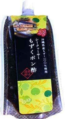 シークヮーサーもずくポン酢 150g×10P 勝連漁業協同組合 フコイダンたっぷりの沖縄県産モズクとシークワーサーですっきりと仕上げたジュレぽん酢 モズクのネバネバ旨みをいかした逸品 沖縄土産にも