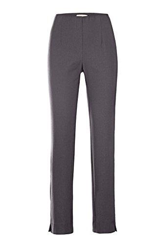 Stehmann-Stretchhose INA 800-mit EXTRA-Fashion Armreif- die Lange Hose-WINTERWARM!! - VIELE Farben - Innen kuschlig angerauht, Hosengröße:36, Farbe:Graphit