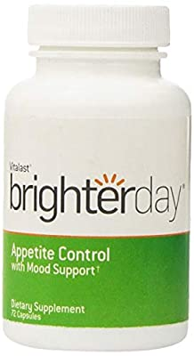 BrighterDay, Appetite Control with Mood Support, 72 Capsules