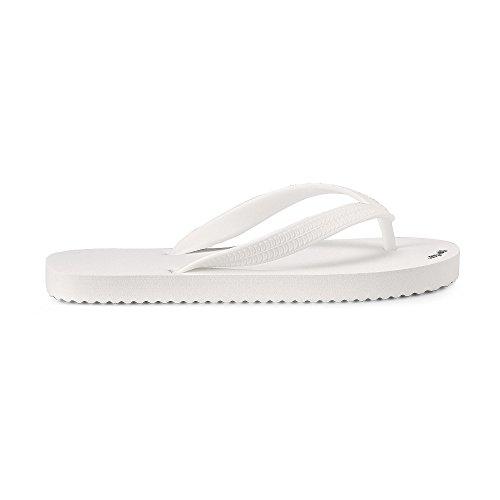 flip*flop Damen Originals Zehentrenner, white, 40 EU