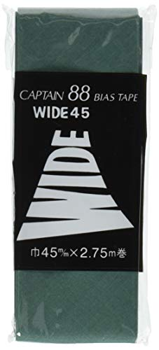 CAPTAIN88 WIDE45バイアステープ 巾45mmX2.75m巻 【COL-349】 CP6-349