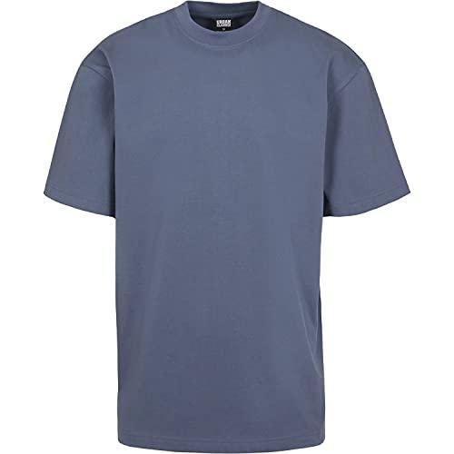 Oferta de Urban Classics Basic Crew Neck Tall Tee, Camiseta, para Hombre, vintageblue, XXL