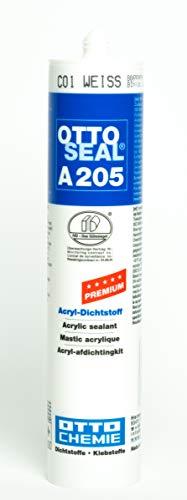 OTTO-CHEMIE A205 Acryl, Weiß C01, Kartusche: 310ml