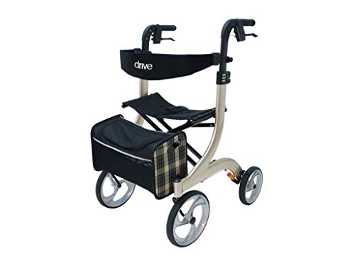 Drive Medical champagne rollator Nitro, maat L