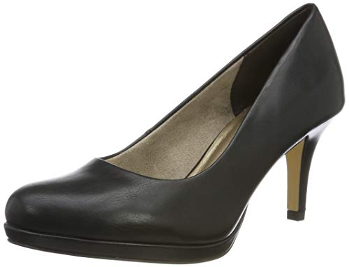 Tamaris Damen 1-1-22444-23 Pumps, Schwarz (Black MATT 20), 39 EU