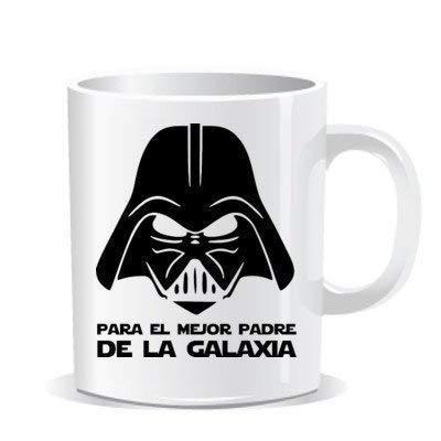 Imprimirlo Taza Regalo para el Día del Padre - para el Mejor Padre de La Galaxia - Darth Vader