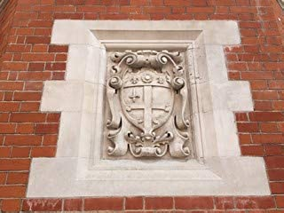 HistoricalFindings Photo: Arms of The City of London on Hertford's Christ's Hospital