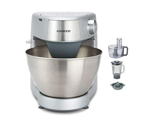 Kenwood Prospero+ KHC29.H0WH - Robot de Cocina Multifunción, Bol 4,3L, Mezclar, Batir y Amasar, Batidora de Vaso de Cristal 1.5L,...