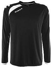 Kappa Pavie LS T-Shirt Voetbal, Unisex Volwassene, Unisex Volwassene, Pavie LS