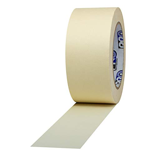 """ProTapes Pro 795 Crepe Paper General Purpose Masking Tape, 60 yds Length x 2"""" Width, Tan (Pack of 1)"""